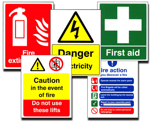 The Sign Workshop  Safety Signs in Gainsborough, Lincolnshire